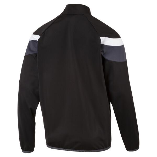 Football  Spirit II Poly Training Jacket, black-white, large