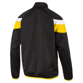 Thumbnail 2 of Football  Spirit II Poly Training Jacket, black-cyber yellow, medium