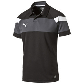 Thumbnail 1 of Football Spirit II Polo, black-white, medium