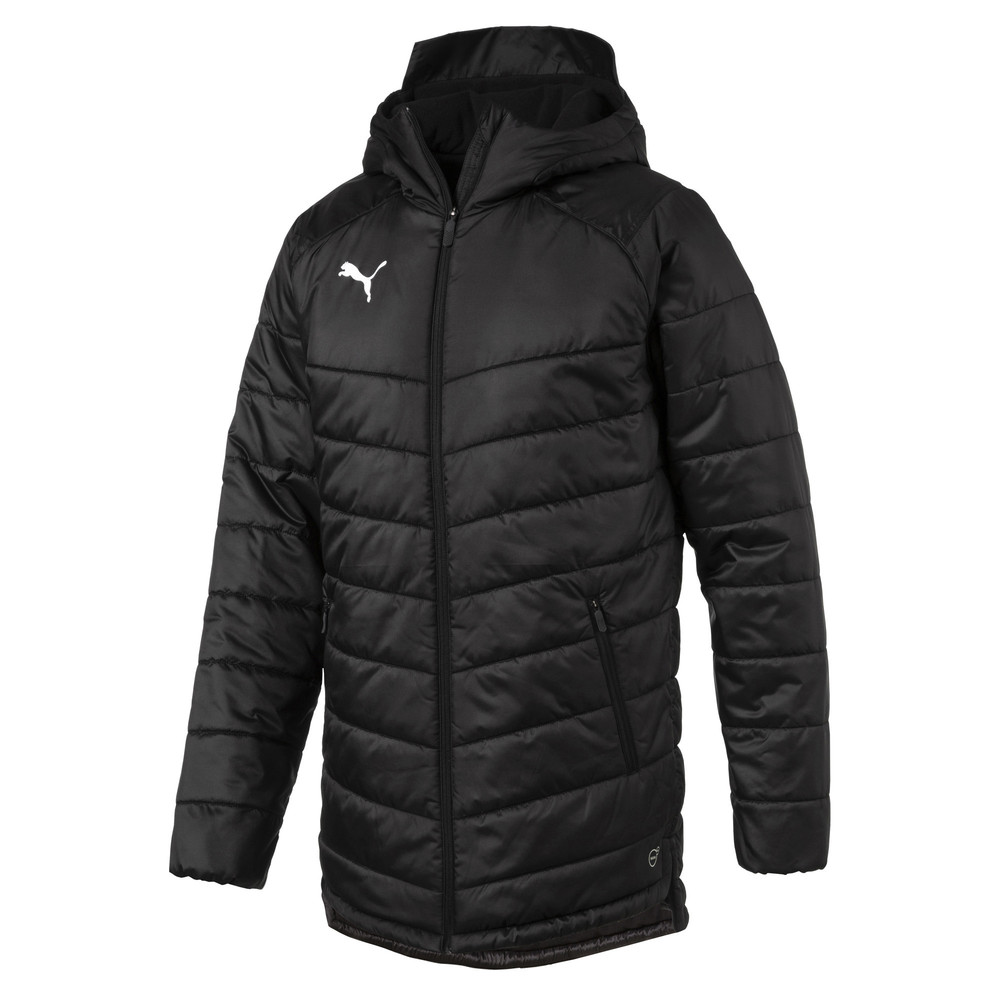 Купить Куртки и ветровки, PUMA - male - Куртка LIGA Sideline Bench Men's Jacket – Puma Black-Puma White – M