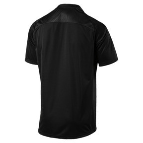 Thumbnail 3 of ftblNXT Graphic Core Men's Training Top, Puma Black-Iron Gate, medium