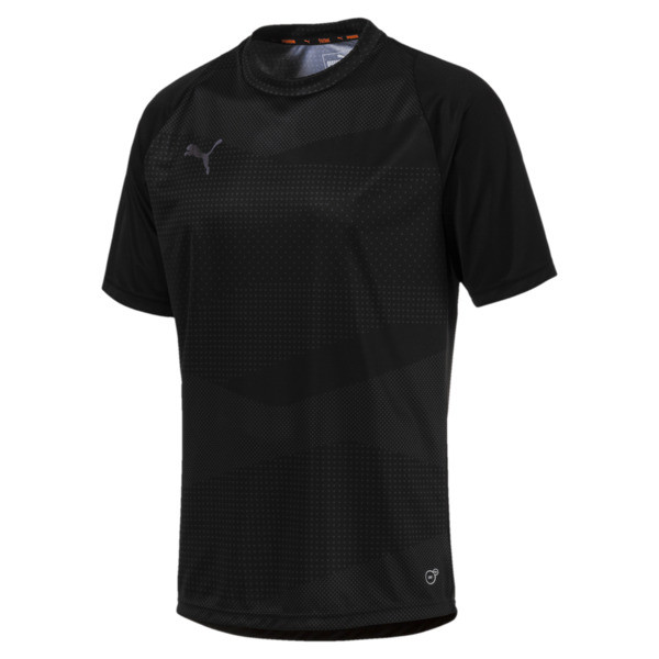 ftblNXT Graphic Core Men's Training Top, Puma Black-Iron Gate, large