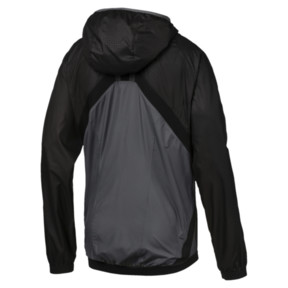 Thumbnail 3 of ftblNXT Men's Vent Thermo-R Windbreaker, Puma Black-Iron Gate, medium