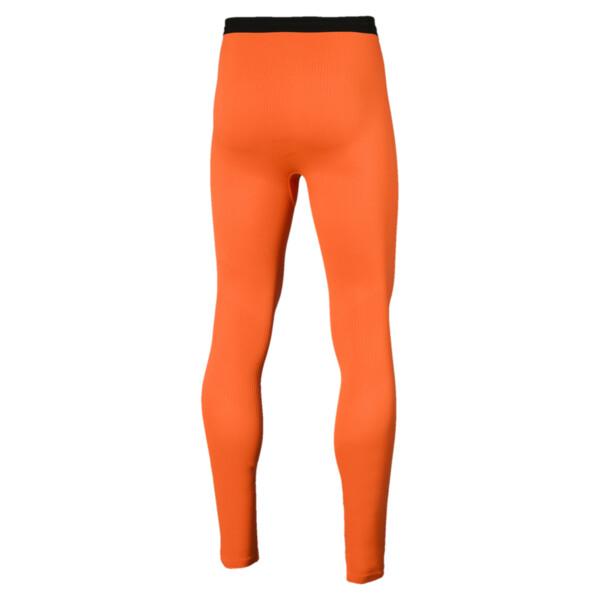 ftblNXT Long Men's Training Tights, Shocking Orange, large