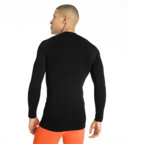 Thumbnail 3 of ftblNXT Long Sleeve Men's Baselayer, Puma Black, medium