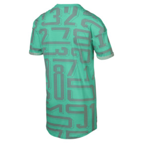 Thumbnail 4 of ftblNXT Casuals Graphic Men's Tee, Biscay Green, medium
