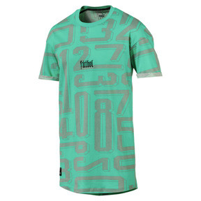 Thumbnail 1 of ftblNXT Casuals Graphic Men's Tee, Biscay Green, medium