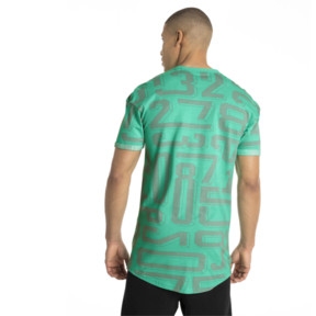 Thumbnail 3 of ftblNXT Casuals Graphic Men's Tee, Biscay Green, medium