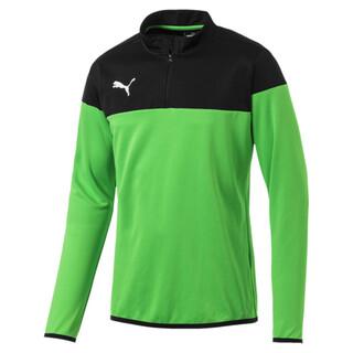 Görüntü Puma ftblPLAY Futbol Çeyrek Fermuarlı Erkek Sweatshirt