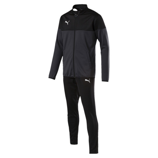 ftblPLAY Men's Track Suit, Asphalt-Puma Black, large