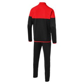 Thumbnail 6 of ftblPLAY Men's Track Suit, Red Blast-Puma Black, medium