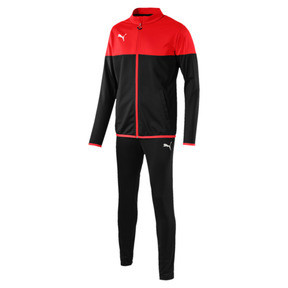 Thumbnail 5 of ftblPLAY Men's Track Suit, Red Blast-Puma Black, medium