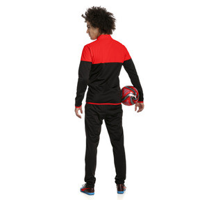 Thumbnail 2 of ftblPLAY Men's Track Suit, Red Blast-Puma Black, medium