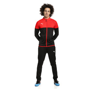 Thumbnail 3 of ftblPLAY Men's Track Suit, Red Blast-Puma Black, medium