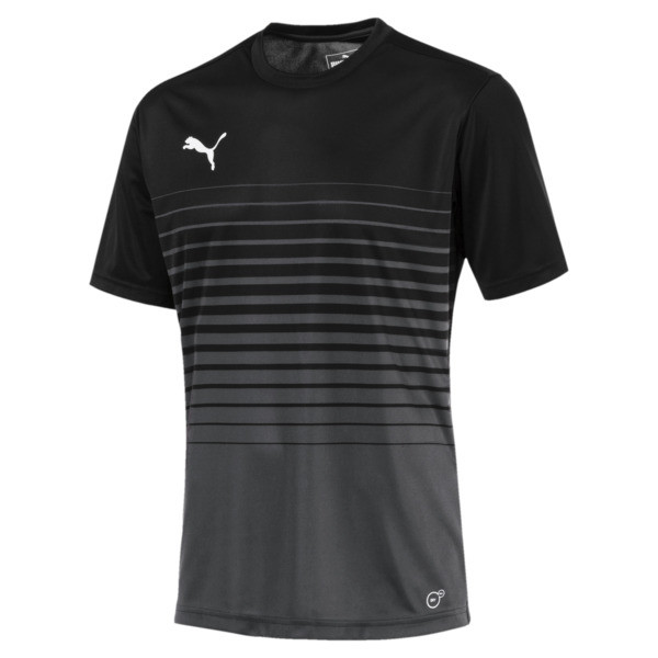 ftblPLAY Men's Graphic Shirt, Asphalt-Puma Black, large
