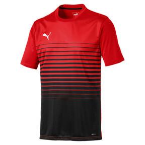 Thumbnail 4 of ftblPLAY Men's Graphic Shirt, Red Blast-Puma Black, medium