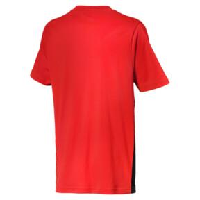 Thumbnail 2 of ftblPLAY Graphic Boys' Shirt, Red Blast-Puma Black, medium