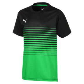 Thumbnail 1 of ftblPLAY Graphic Boys' Shirt, Puma Black-ANDEAN TOUCAN, medium
