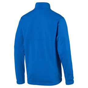 Thumbnail 2 of Football Men's LIGA Sideline Poly Core Jacket, Electric Blue Lemonade, medium