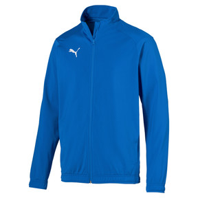 Thumbnail 1 of Football Men's LIGA Sideline Poly Core Jacket, Electric Blue Lemonade, medium