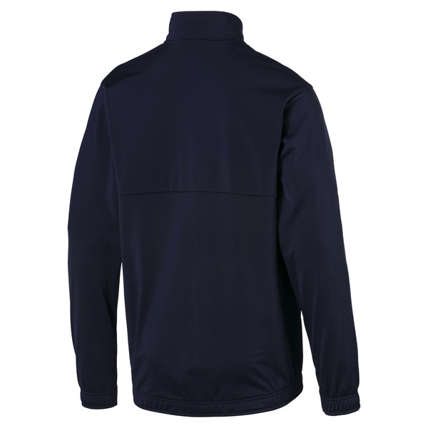 Blouson de football LIGA Sideline Poly Core pour homme, Peacoat-Puma White, large