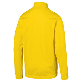 Imagen en miniatura 2 de Chaqueta de fútbol de poliéster de hombre LIGA Sideline Core, Cyber Yellow-Puma Black, mediana