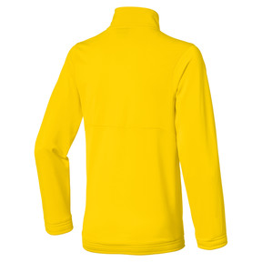 Thumbnail 2 of Fußball Kinder LIGA Sideline Core Jacke, Cyber Yellow-Puma Black, medium