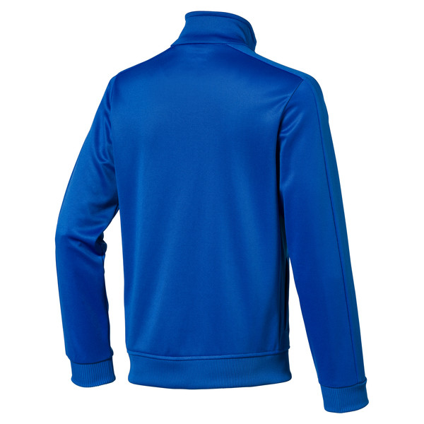 Blouson d'entraînement de football LIGA Casuals pour enfant, Electric Blue Lemonade, large