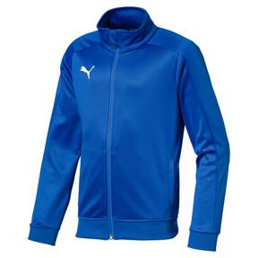 Thumbnail 1 of Football Kids' LIGA Casuals Track Jacket, Electric Blue Lemonade, medium