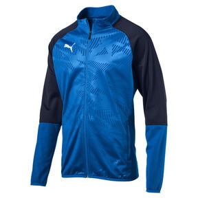 Thumbnail 4 of CUP Training Poly Core Men's Football Training Jacket, El. Blue Lemonade-Peacoat, medium