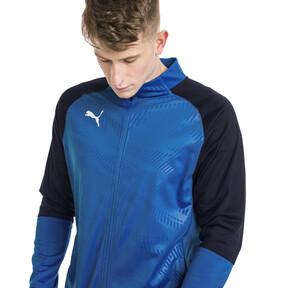 Thumbnail 1 of CUP Training Poly Core Men's Football Training Jacket, El. Blue Lemonade-Peacoat, medium