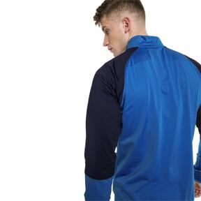Thumbnail 2 of CUP Training Poly Core Men's Football Training Jacket, El. Blue Lemonade-Peacoat, medium