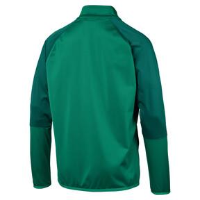 Thumbnail 5 of CUP Training Poly Core Men's Football Training Jacket, Pepper Green-Alpine Green, medium