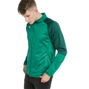 Thumbnail 1 of CUP Training Poly Core Men's Football Training Jacket, Pepper Green-Alpine Green, medium