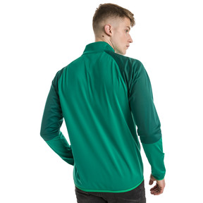 Thumbnail 2 of CUP Training Poly Core Men's Football Training Jacket, Pepper Green-Alpine Green, medium