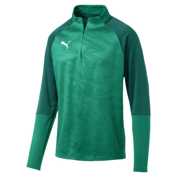 Sweat de football CUP Training Core pour homme, Pepper Green-Alpine Green, large