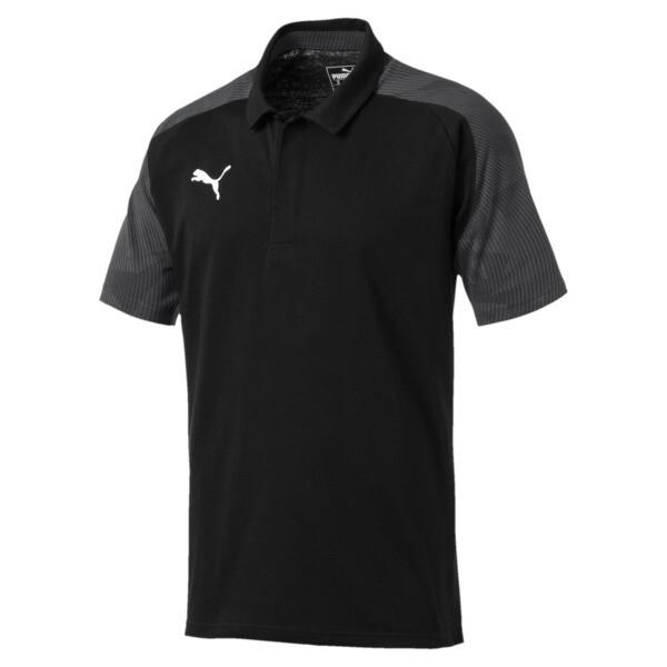 CUP Sideline Polo, Puma Black-Asphalt, large
