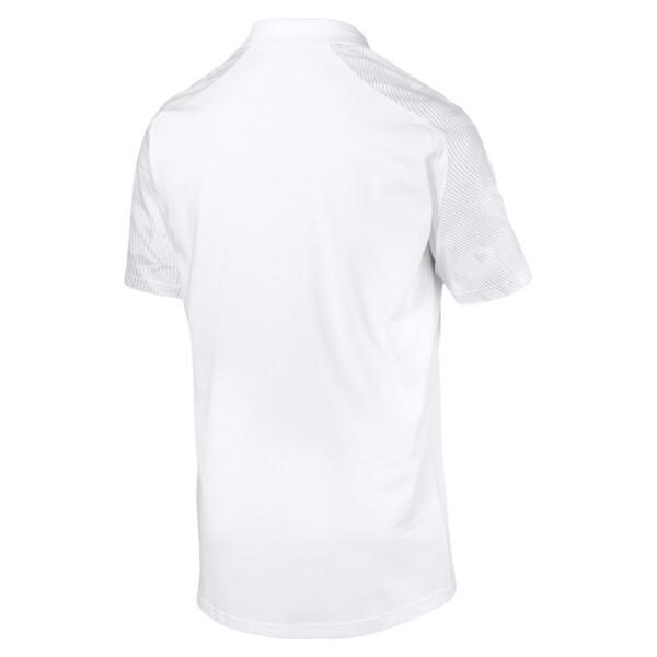 Koszulka polo CUP Sideline, Puma White-PUMA Black, obszerny