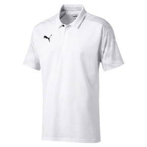 Thumbnail 4 of CUP Sideline Polo, Puma White-PUMA Black, medium