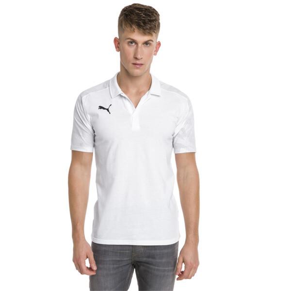 CUP Sideline Polo, Puma White-PUMA Black, large
