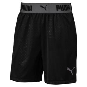 Thumbnail 1 of キッズ FTBLNXT グラフィックショーツ ジュニア, Puma Black, medium-JPN