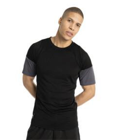 Thumbnail 2 of FTBLNXT グラフィックシャツ, Puma Black-Iron Gate, medium-JPN