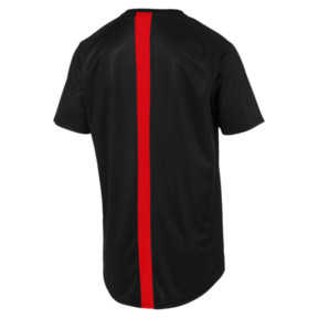 Thumbnail 6 of ftblNXT Men's Football Tee, Puma Black-Red Blast, medium