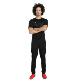 Thumbnail 3 of ftblNXT Men's Football Tee, Puma Black-Red Blast, medium