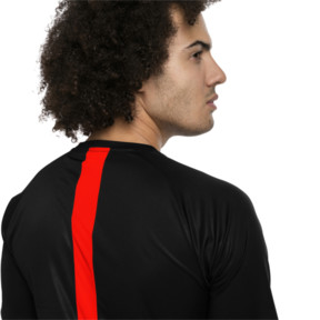 Thumbnail 4 of ftblNXT Men's Football Tee, Puma Black-Red Blast, medium