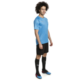 Thumbnail 3 of ftblNXT Men's Football Tee, Bleu Azur-Red Blast, medium