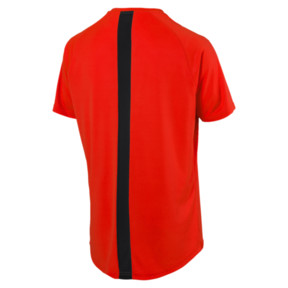 Thumbnail 5 of ftblNXT Men's Football Tee, Red Blast-Puma Black, medium