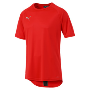 Thumbnail 4 of ftblNXT Men's Football Tee, Red Blast-Puma Black, medium