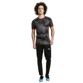 Thumbnail 3 of ftblNXT Graphic Men's Shirt, Puma Black-Red Blast, medium