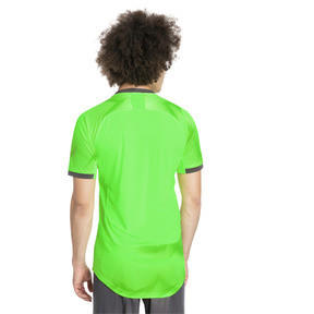 Thumbnail 2 of ftblNXT Graphic Men's Training Top, Green Gecko-Ebony, medium